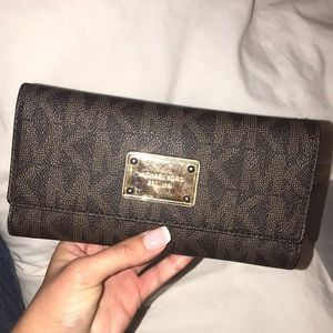 Used but still in decent condition MK wallet